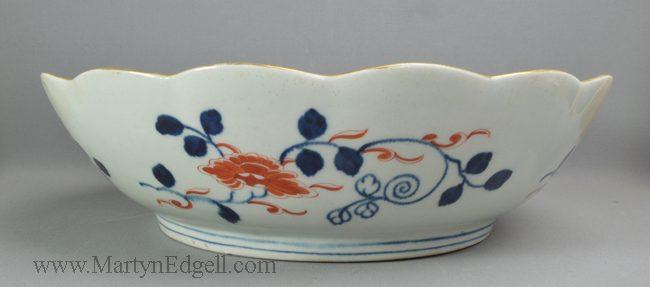 Antique porcelain Worcester bowl