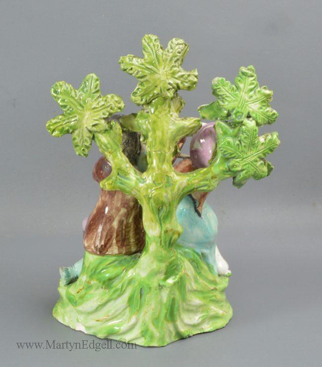 Antique Staffordshire pottery figure