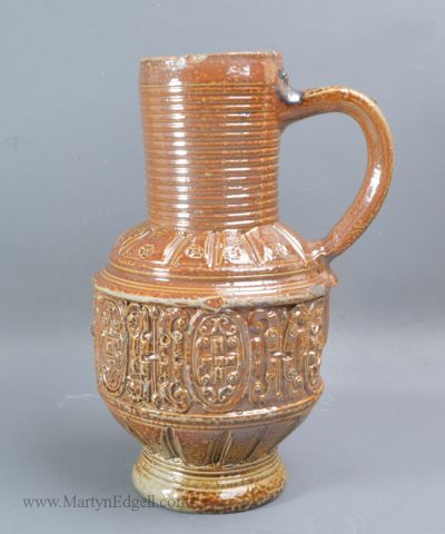 Antique Raren stoneware jug