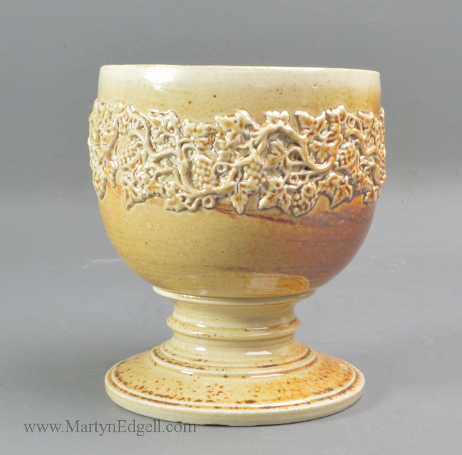 Antique Brampton stoneware goblet