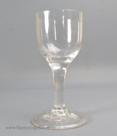 Antique English drinking glass