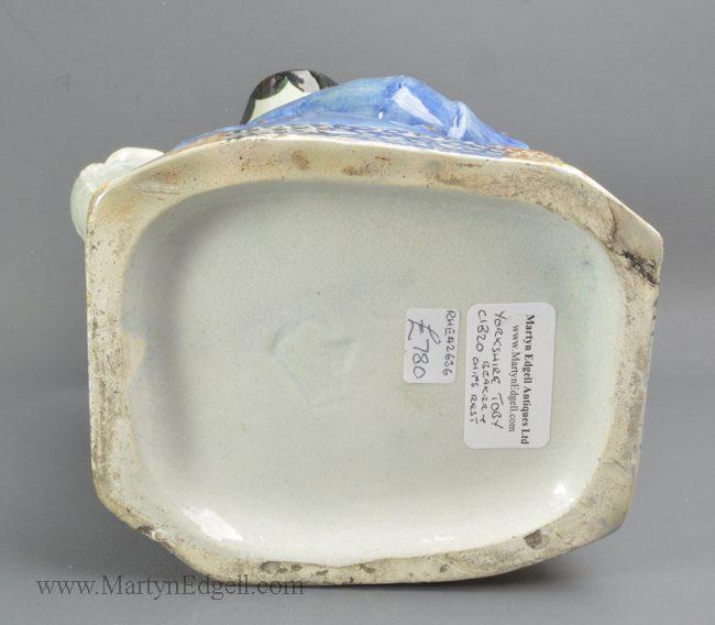 Antique pottery Yorkshire Toby jug