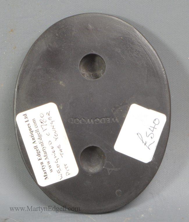 Antique Wedgwood basalt plaque