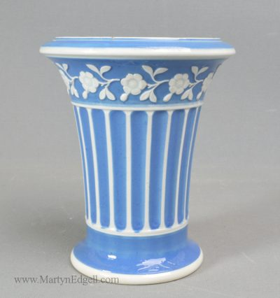 Antique Spode pottery spill vase