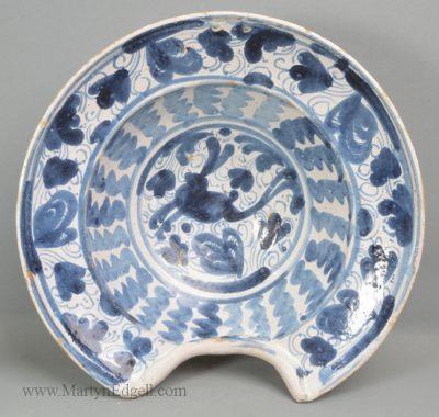 Antique Spanish barbers bowl
