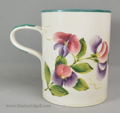 Antique Wemyss pottery mug