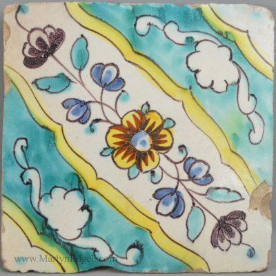 Antique Spanish tile
