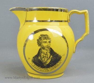 Antique commemorative Reform jug