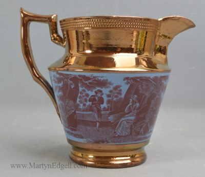 Antique lustre jug