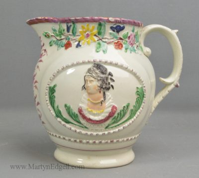 Antique commemorative jug