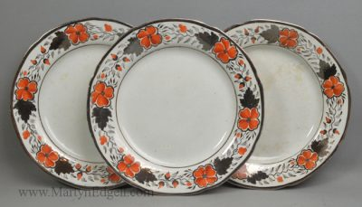 Antique pearlware plates