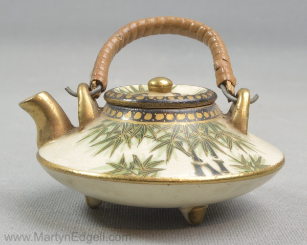 Antique Satsuma kettle