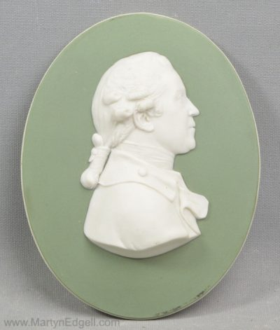 Antique Wedgwood portrait