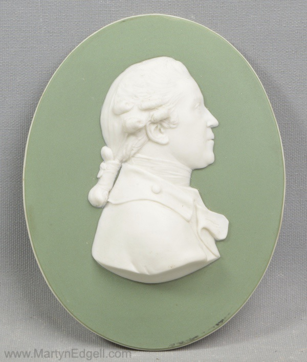 Antique Wedgwood portrait