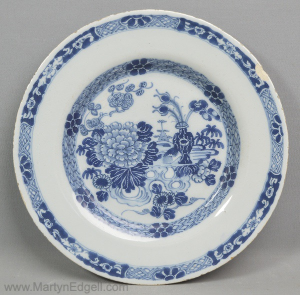 Antique Irish delft plate