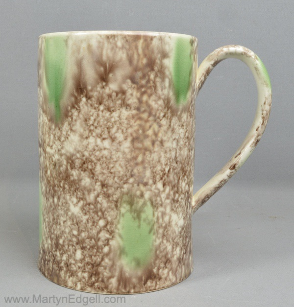 Antique Whieldon pottery mug