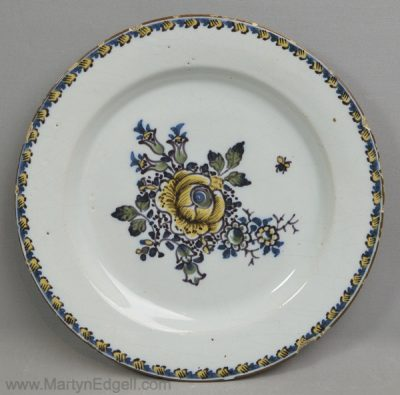 Antique Scottish delft plate