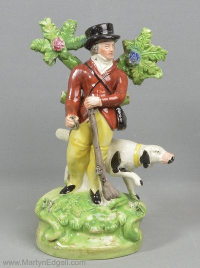 Antique Staffordshire figure