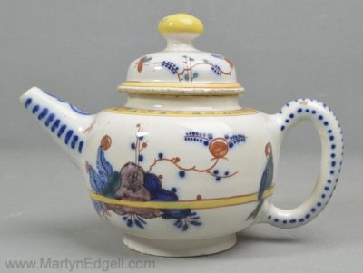 Antique Dutch Delft teapot