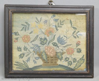 Antique needlework