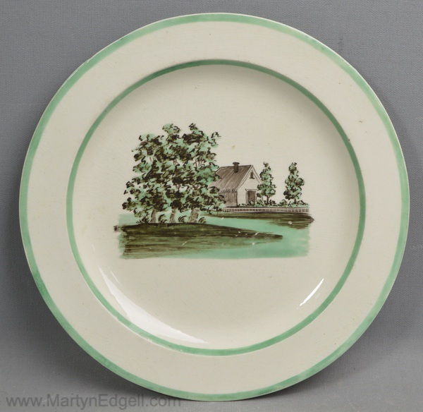 Antique Absalom plate