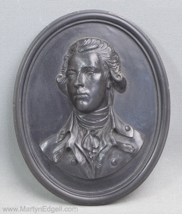 Wedgwood basalt portrait