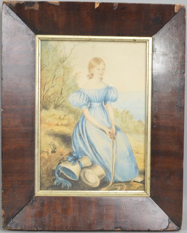 Antique watercolour