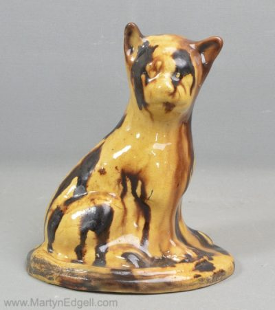 Yorkshire pottery cat