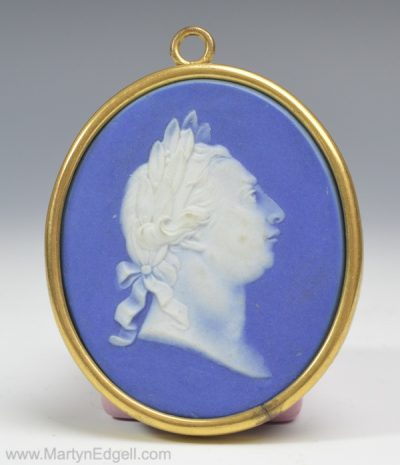 Wedgwood jasper plaque