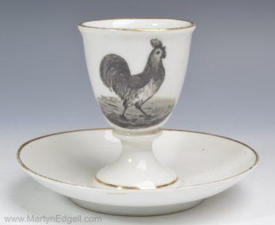 Porcelain egg cup