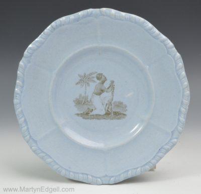 Anti-slavery plate
