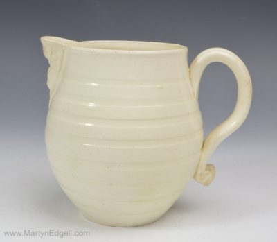 Leeds creamware jug