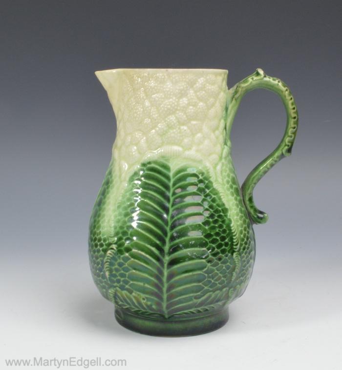Creamware cauliflower jug