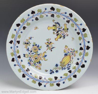 London delftware plate