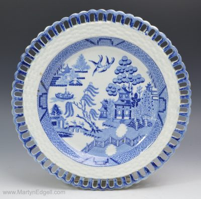 Pearlware plate