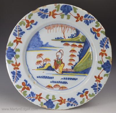 London delft plate
