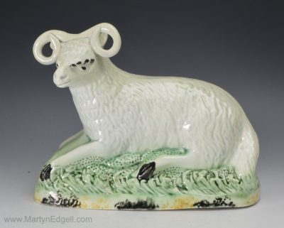 Yorkshire pearlware sheep