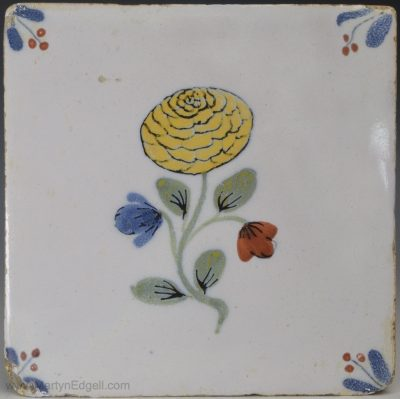 Fazackerly delft tile