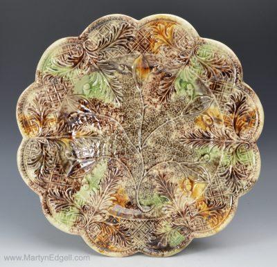 Whieldon creamware plate