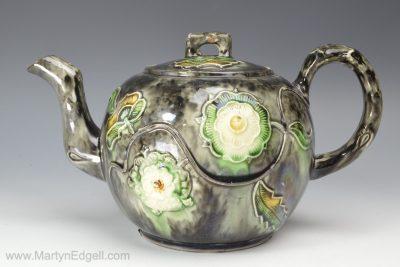 Staffordshire Whieldon teapot