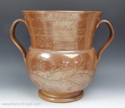 Saltglaze stoneware pot