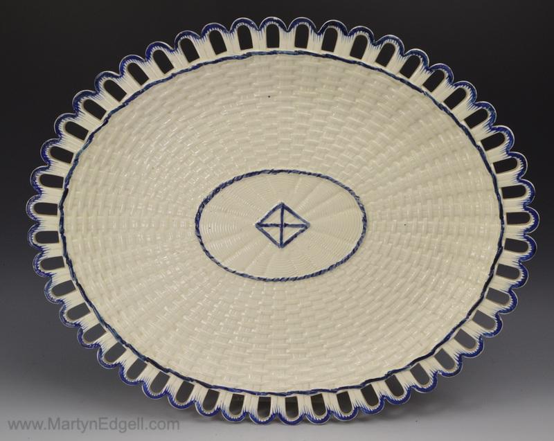 Neale Creamware dish