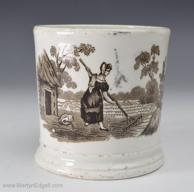 Pearlware child's mug