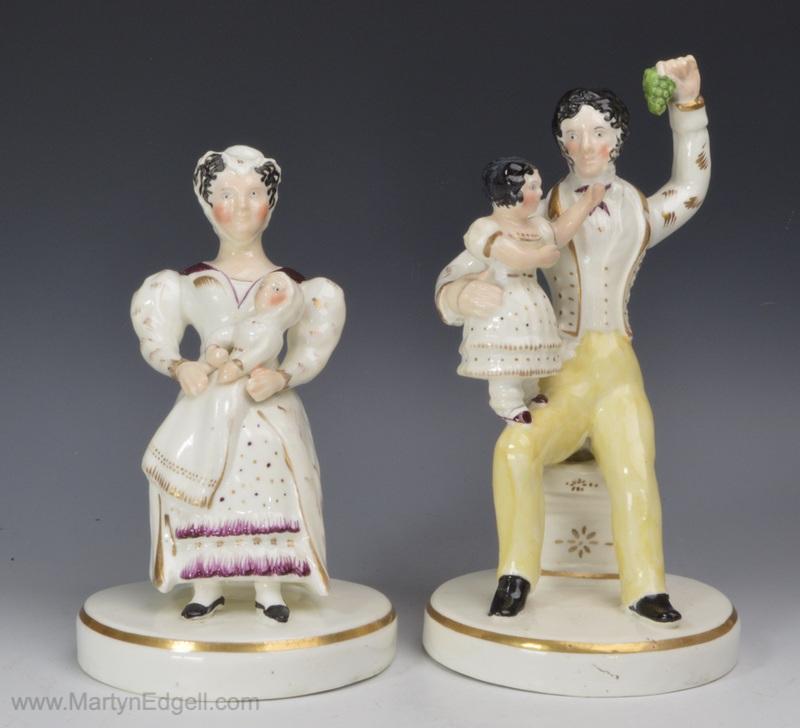 Porcelain figures V & A