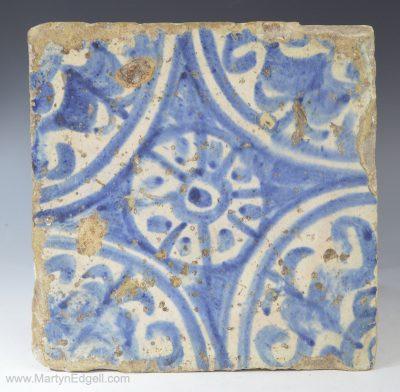 Spanish Manises tile