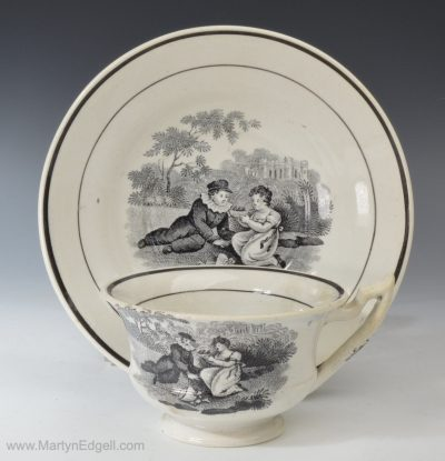 Don Pottery cup & saucer
