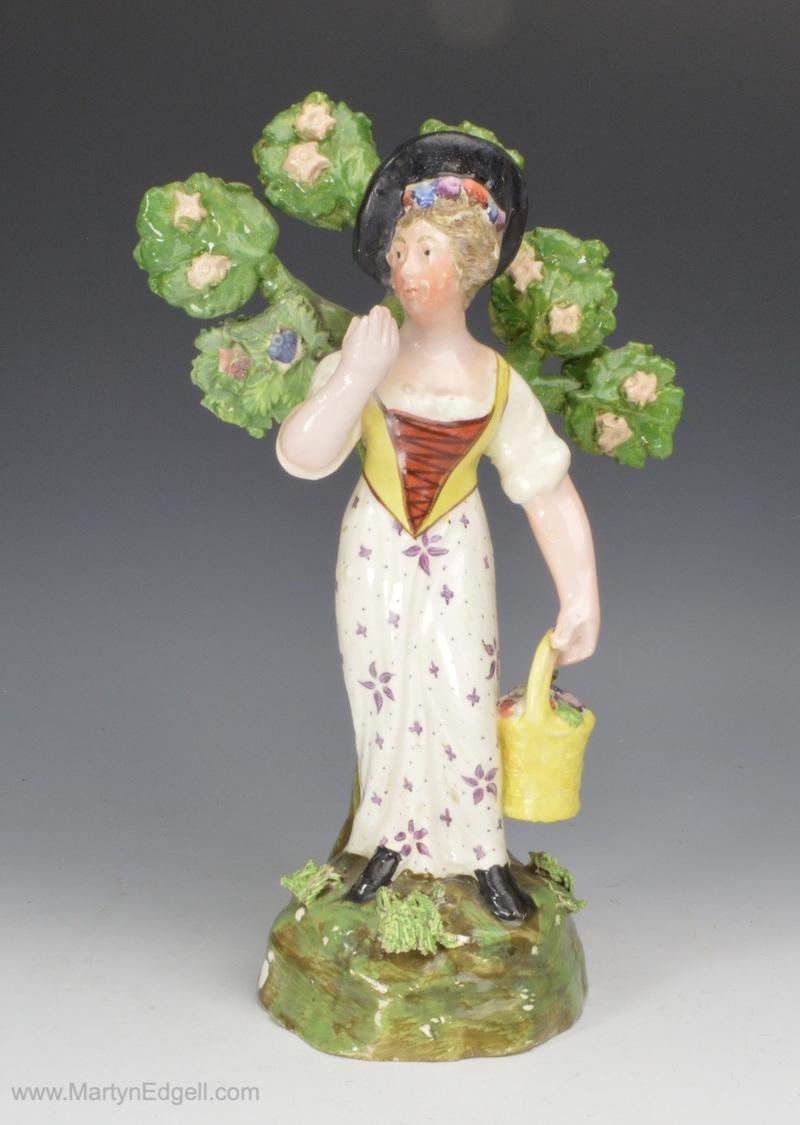 Staffordshire pottery figure