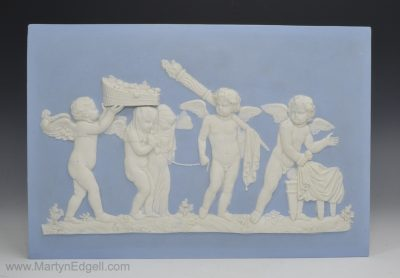 Wedgwood jasperware plaque