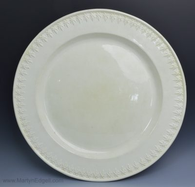 Creamware pottery charger