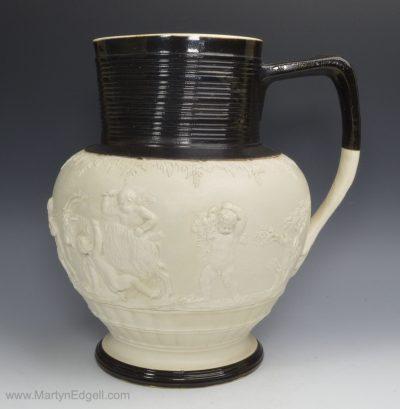 Adams stoneware jug